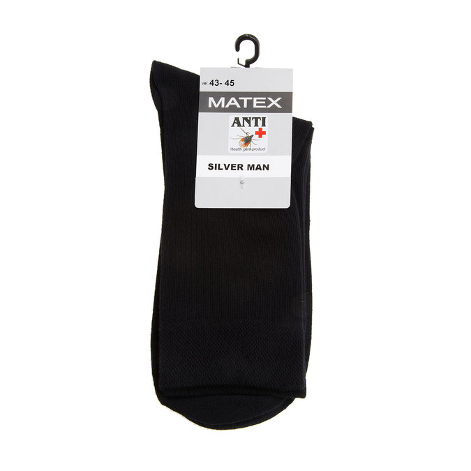 Pánské ponožky Matex s antibakteriálnou úpravou matex, čierna, 919-6313 - 13