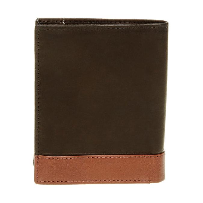 Pánská kožená peňaženka bata, čierna, 944-6150 - 26