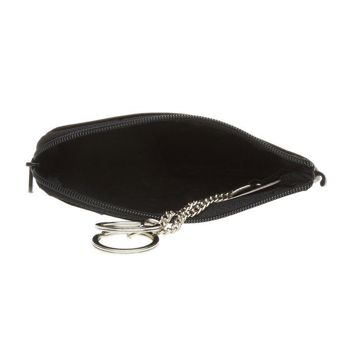 Kožená peňaženka bata, čierna, 944-6161 - 16