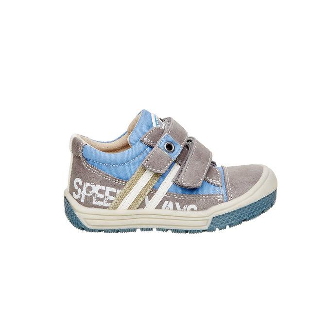 Detské topánky na suchý zips mini-b, šedá, 111-2104 - 26