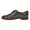 Dámske kožené poltopánky bata, hnedá, 528-2600 - 26