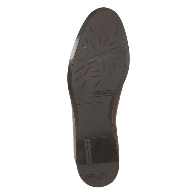 Kožené hnedé Chelsea Boots bata, hnedá, 594-4604 - 26
