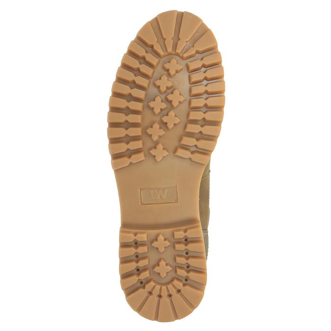 Pánska zimná obuv kožená weinbrenner, hnedá, 896-3102 - 26