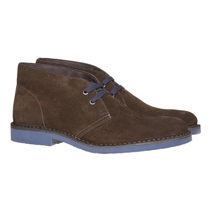 Členková obuv ve štýle Chukka bata, hnedá, 893-4275 - 26