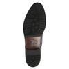 Kožené poltopánky v Derby strihu bata, čierna, 824-6676 - 26