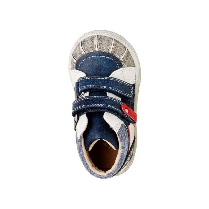 Členkové topánky na suchý zips mini-b, modrá, 111-9101 - 19
