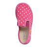 Dievčenská domáca obuv s bodkami bata, ružová, 279-5103 - 19