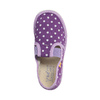 Detská domáca obuv s bodkami bata, fialová, 279-9103 - 19