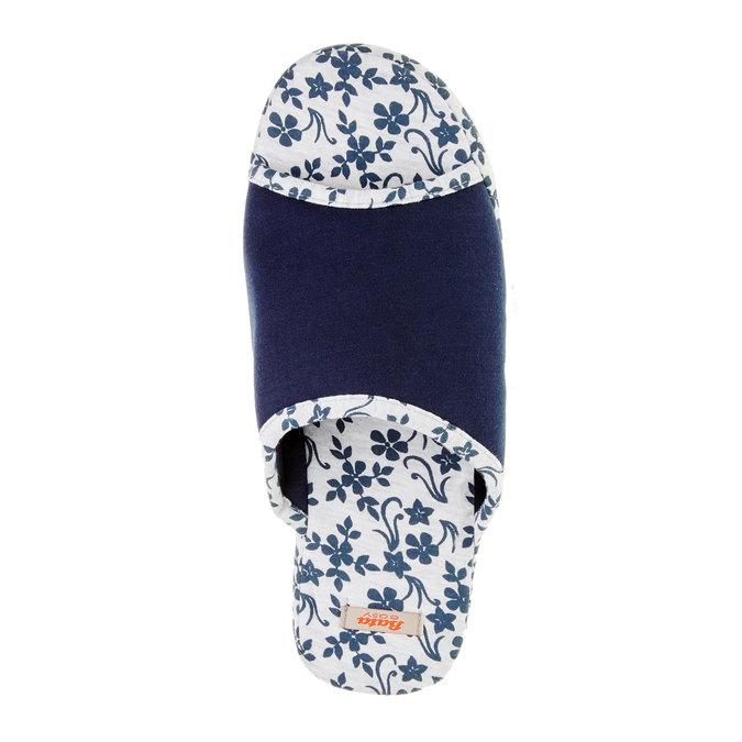 Dámska domáca obuv, modrá, 579-9246 - 19