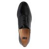 Dámske kožené poltopánky bata, čierna, 528-6631 - 19