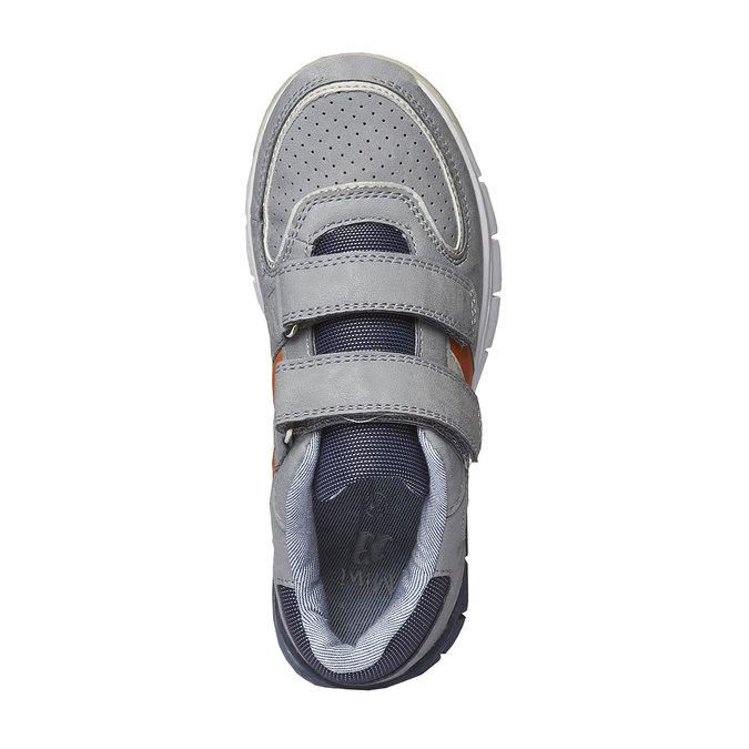 Detské tenisky na suchý zips mini-b, šedá, 311-2190 - 19