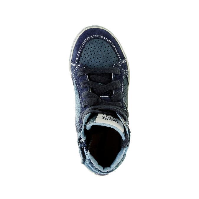 Detské členkové tenisky geox, modrá, 319-9104 - 19