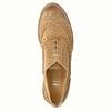 Kožené Oxfordky s Brogue zdobením bata, hnedá, 524-3482 - 19