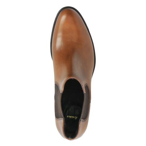 Kožená Chelsea obuv bata, hnedá, 594-4448 - 19