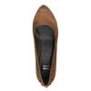 Dámske lodičky na širšom podpätku bata, hnedá, 626-4602 - 19