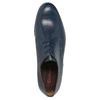 Modré kožené poltopánky conhpol, modrá, 824-9733 - 19