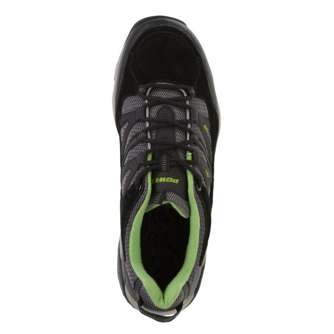 Kožené športové tenisky power, čierna, 803-6284 - 19
