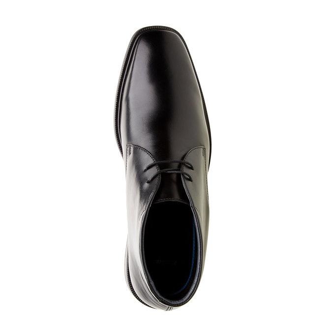 Kožené členkové topánky climatec, čierna, 894-6209 - 19