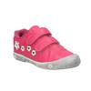 Ružové detské tenisky s kytičkami mini-b, ružová, 221-5602 - 13