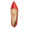 Dámske kožené lodičky insolia, červená, 728-5620 - 19