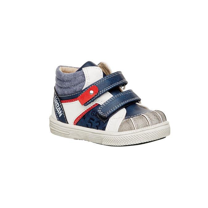 Členkové topánky na suchý zips mini-b, modrá, 111-9101 - 13