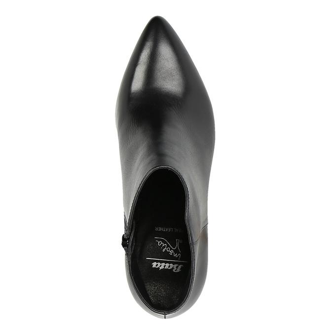 Dámska členková obuv insolia, čierna, 794-6629 - 19