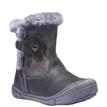 Detská obuv mini-b, šedá, 191-2100 - 13