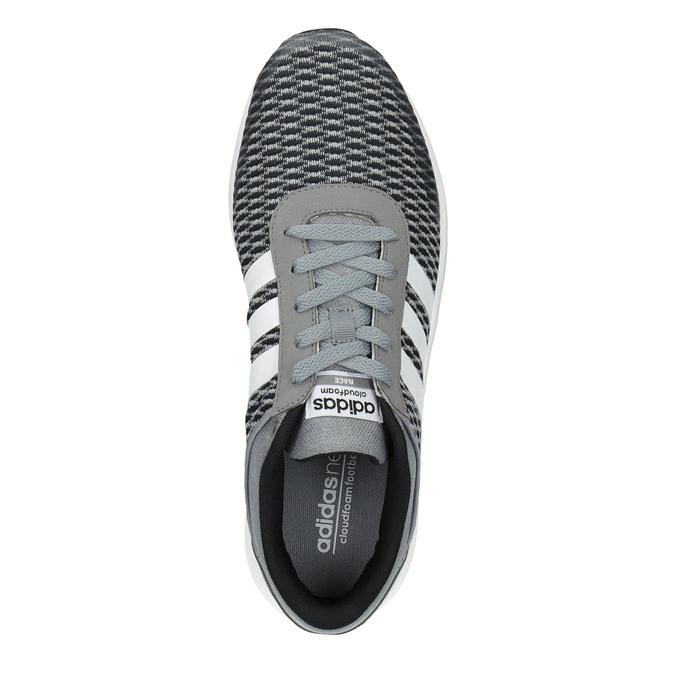 Pánske tenisky adidas, šedá, 809-2822 - 19