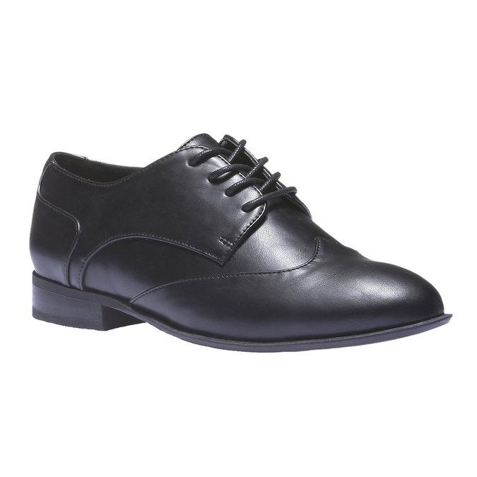 Dámske poltopánky bata, čierna, 521-6103 - 13
