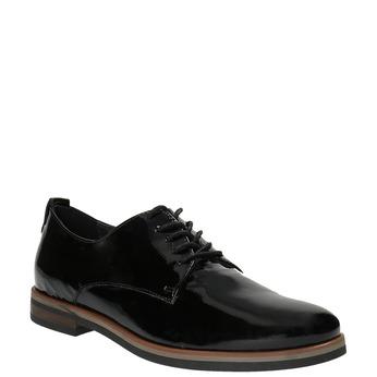 Dámske Derby poltopánky bata, čierna, 528-6600 - 13