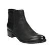 Dámska členková obuv bata, čierna, 696-6605 - 13