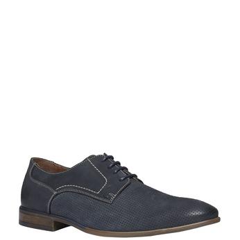 Ležérne kožené poltopánky bata, čierna, 826-6832 - 13