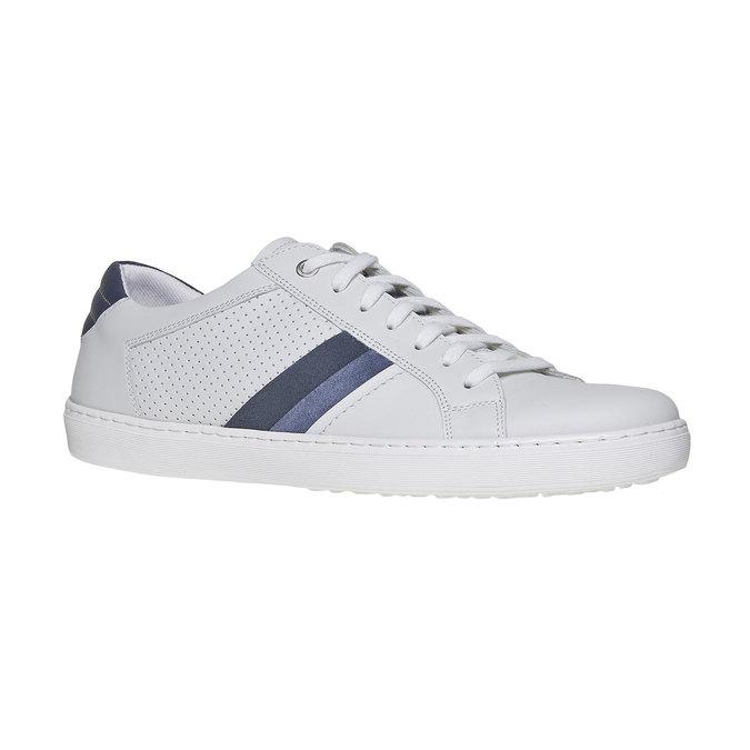 Biele kožené tenisky bata, biela, 844-1639 - 13