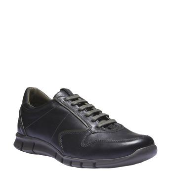 Kožené tenisky bata, čierna, 844-6270 - 13