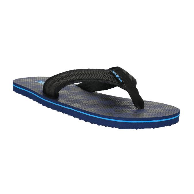 Pánske žabky pata-pata, modrá, 881-9602 - 13
