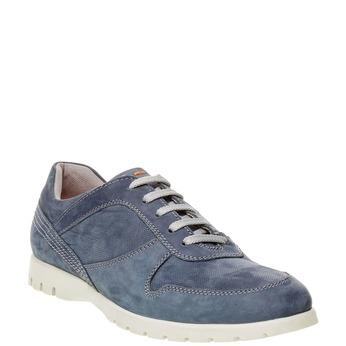 Ležérne kožené tenisky flexible, modrá, 846-9650 - 13