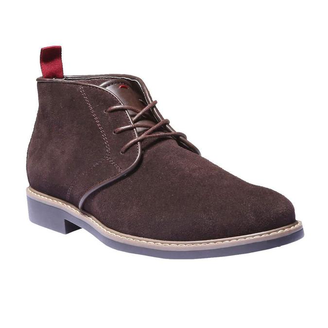 Členková obuv v štýle Chukka bata, hnedá, 893-4245 - 13