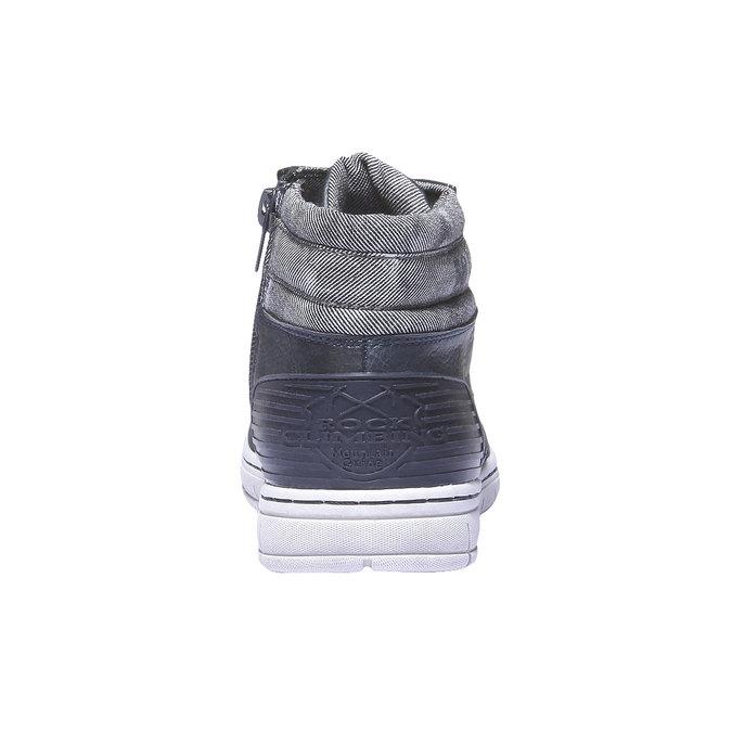 Farebné tenisky mini-b, modrá, 391-9194 - 17