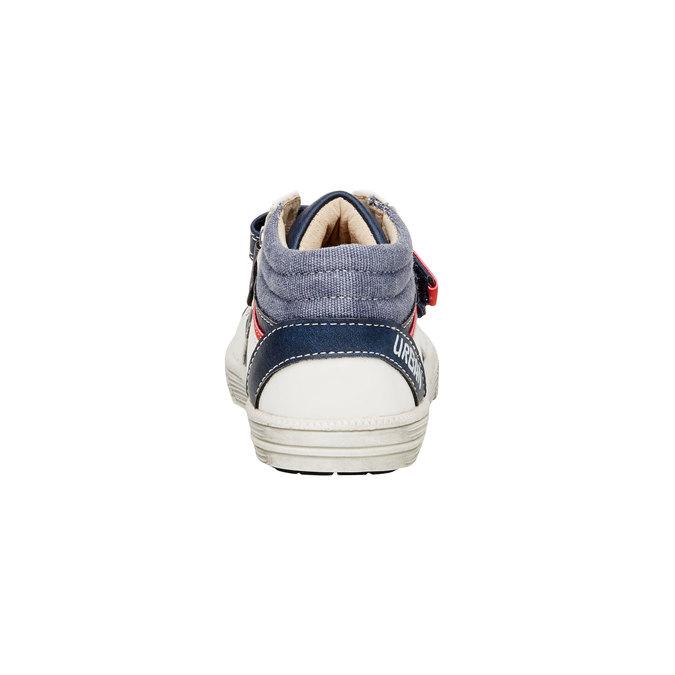 Členkové topánky na suchý zips mini-b, modrá, 111-9101 - 17