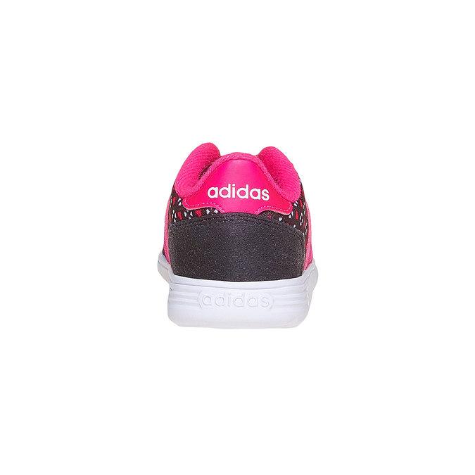 Dievčenské tenisky adidas, čierna, 109-6141 - 17