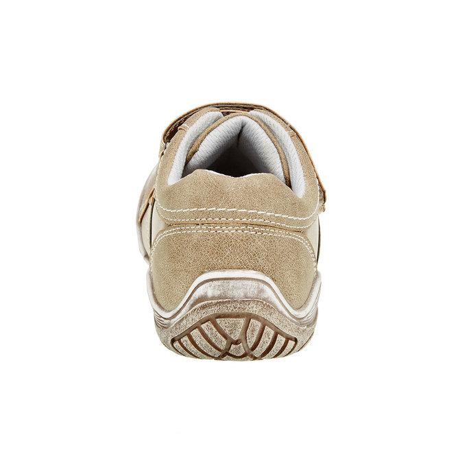 Detské ležérne tenisky na suchý zips mini-b, hnedá, 311-3212 - 17