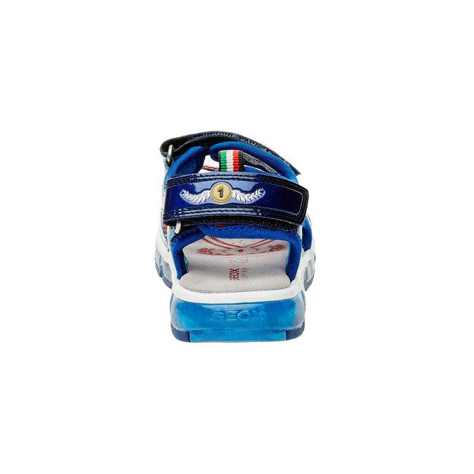 Detské sandále geox, modrá, 361-9103 - 17