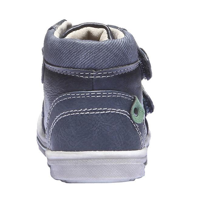 Detské tenisky mini-b, modrá, 111-9100 - 17