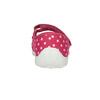 Detská domáca obuv s remienkom cez priehlavok mini-b, ružová, 379-5209 - 17