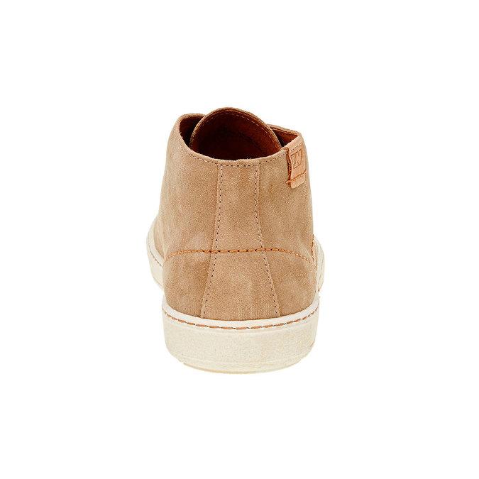 Pánska kožená obuv weinbrenner, hnedá, 843-8661 - 17