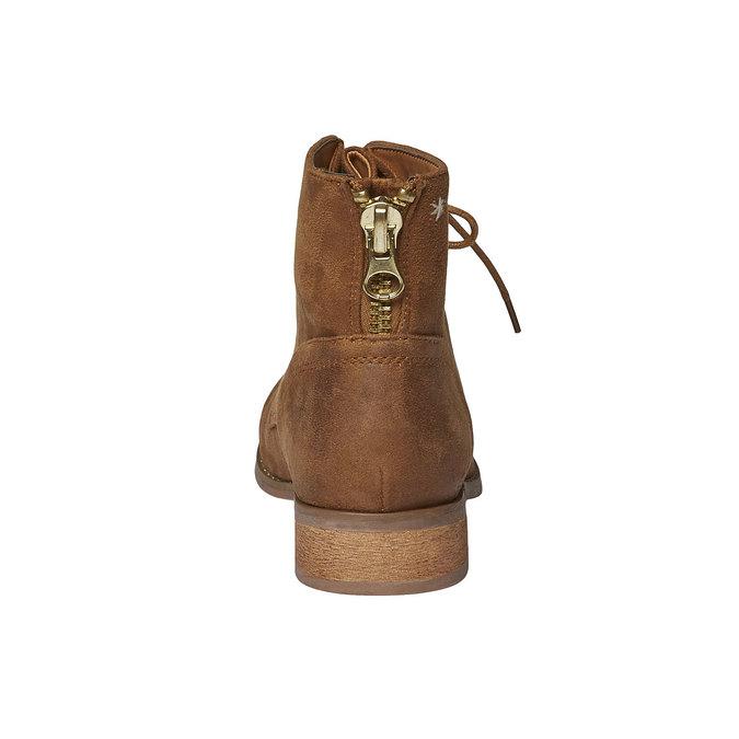 Členkové šnurovacie topánky bata, hnedá, 599-3493 - 17