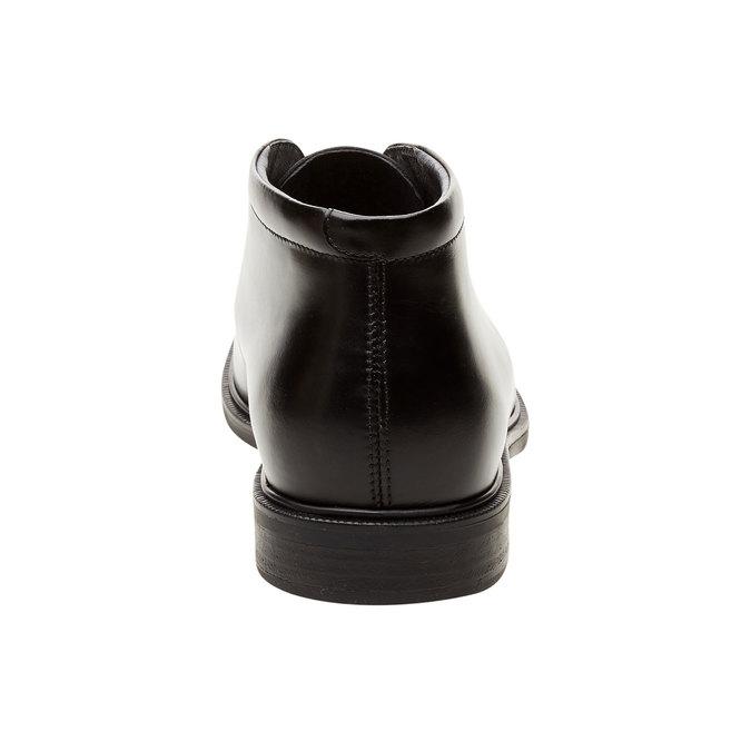 Kožené členkové topánky climatec, čierna, 894-6208 - 17