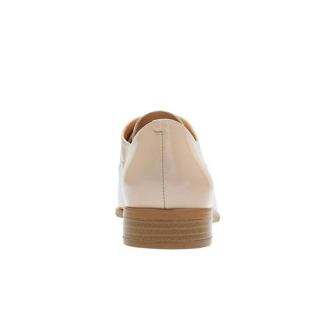 Dámske Oxford poltopánky bata, ružová, 528-5631 - 17