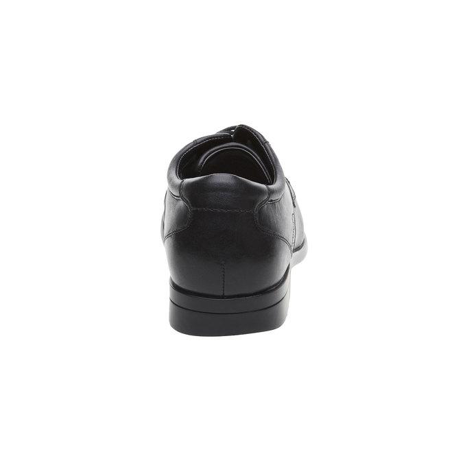 Pánske kožené poltopánky rockport, čierna, 824-6376 - 17
