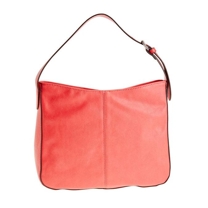 Červená kabelka s nastavitelným uškom bata, červená, 961-5792 - 26